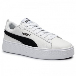 Puma Sneakers Smash Platform L 366487 12 White/Puma Black [Outlet]