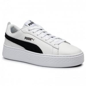Puma Sneakers Smash Platform L 366487 12 White/Puma Black [Sale]