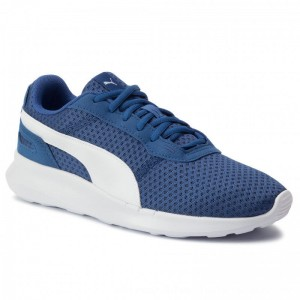 Puma Sneakers St Activate Jr 369069 08 Galaxy Blue/Puma White [Outlet]