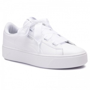 Puma Sneakers Vikky Stacked Ribb Core 369112 02 White/Puma White [Outlet]