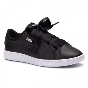 Puma Sneakers Vikky V2 Ribbon Core 369114 01 Black/Puma Silver/White [Outlet]