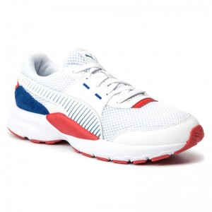 Puma Schuhe Future Runner Premium 369502 07 White/Galaxy Blue/Red [Outlet]