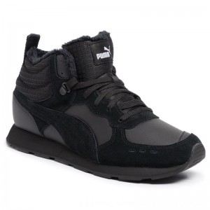 Puma Sneakers Vista Mid Wtr 369783 01 Black/Puma White [Outlet]