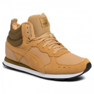 Puma Sneakers Vista Mid Wtr 369783 03 Taffy/Moss Green/Puma White [Outlet]