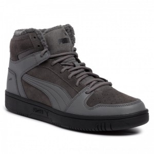 [BLACK FRIDAY] Puma Sneakers Rebound LayUp SD Fur 369831 02 Casterock/Puma Black