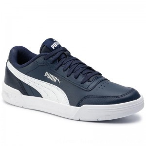 Puma Sneakers Caracal 369863 04 Peacoat/Puma White [Outlet]