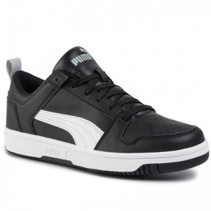 Puma Sneakers Rebound Layup Lo Sl 369866 02 Black/White/High Rise [Outlet]