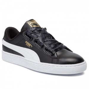 Puma Sneakers Basket Heart Reinvent Wn's 369935 02 Black/Puma Black [Outlet]
