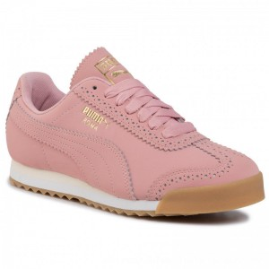 Puma Sneakers Roma Brogue Wn's 369936 01 Bridal Rose/Puma Team Gold [Outlet]