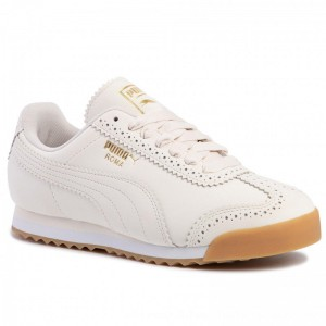 Puma Sneakers Roma Brogue Wn's 369936 02 Pastel Parchment/P.Team Gold [Outlet]