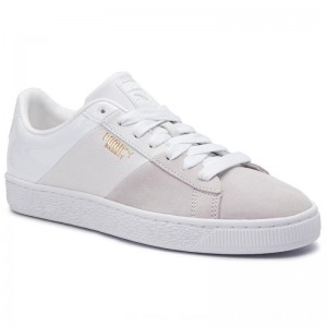 Puma Sneakers Basket Remix Wn's 369956 03 White/Puma Team Gold [Outlet]