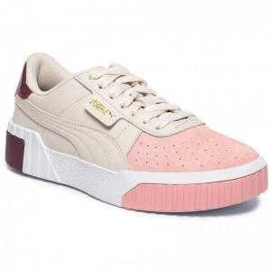 Puma Sneakers Cali Remix Wn's 369968 01 Pastel Parchment/Bridal Rose [Outlet]