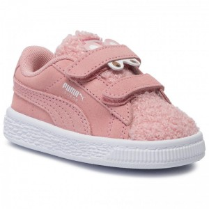 Puma Sneakers Suede Winter Monster V Inf 370006 03 Bridal Rose/Mocha Mousse [Outlet]