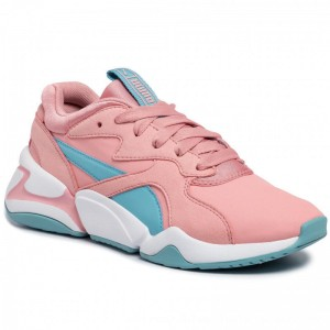 Puma Sneakers Nova Core Sl Jr 370129 01 Bridal Rose/Milky Blue [Outlet]