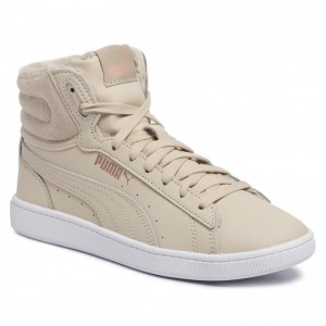 Puma Sneakers Vikky v2 Mid WTR 370279 02 Overcast/Rose Gold/White [Outlet]