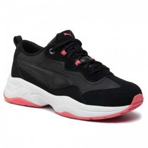 [BLACK FRIDAY] Puma Schuhe Cilia Sd 370283 01 Black/C Coral/Silver/White