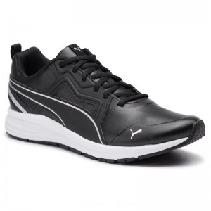 Puma Sneakers Pure Jogger SL 370305 01 Black/Silver/White [Outlet]