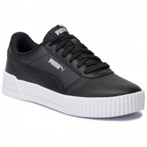Puma Sneakers Carina L 370325 01 Black/White/Silver [Outlet]