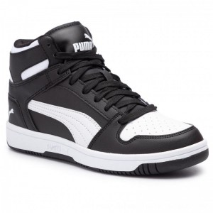 Puma Sneakers Rebound Layup Sl Jr 370486 01 Black/Puma White [Outlet]