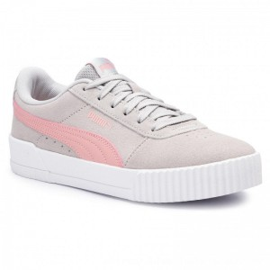 Puma Sneakers Carina Jr 370532 03 Gray Violet/Bridal Rose [Outlet]