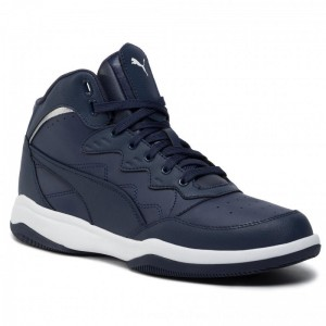 Puma Sneakers Rb Playoff L 370546 03 Peacoat/Puma Silver [Outlet]