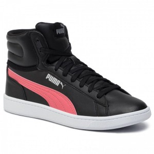 Puma Sneakers Vikky V2 Mid SL Jr 370619 01 Black/C Coral/Silver/White [Outlet]