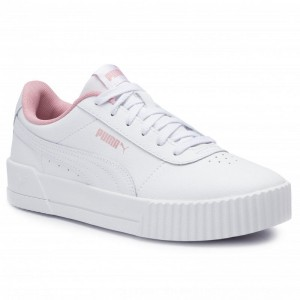 Puma Sneakers Carina L Jr 370677 02 White/Puma White [Outlet]