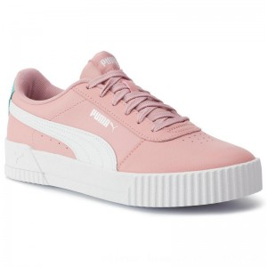 Puma Sneakers Carina L Jr 370677 03 Bridal Rose/Puma White [Outlet]