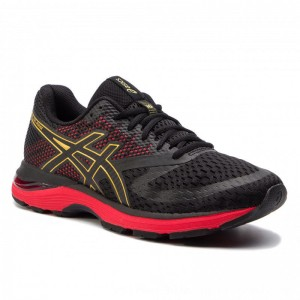 Asics Schuhe Gel-Pulse 10 1011A604 Black/Rich Gold 001 [Outlet]