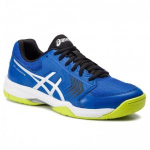 Asics Schuhe Gel-Decicate 5 E707Y Ilusion Blue/Silver 409 [Outlet]