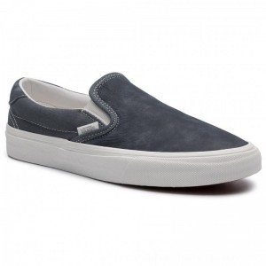 Vans Turnschuhe Slip-On 59 VN0A38GUVT01 (Washed Nubuck/Canvas) Eb [Outlet]