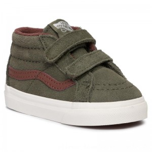 Vans Sneakers Sk8-Mid Reissue V VN0A348JV401 (Mte) Deep Lichen Gr/Rt Br [Outlet]