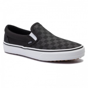 Vans Turnschuhe Classic Slip-On U VN0A3MUDV7X1 (Made Frthmkrs) Bkchkrbrd [Outlet]
