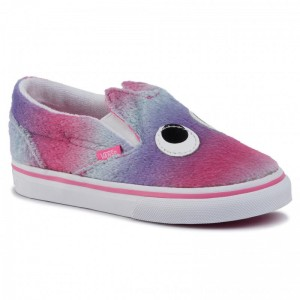 Vans Turnschuhe Slip-On Friend VN0A3TK4V4C1 (Party Animal) Ombr/Trwht