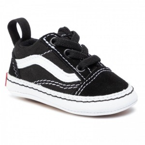 Vans Sneakers Old Skool Crib VN0A3U8K6BT1 Black/True White [Outlet]