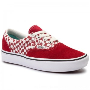 Vans Turnschuhe Comfycush Era VN0A3WM9V9Z1 (Tear Check)Rcgn Rd/Trwht [Outlet]
