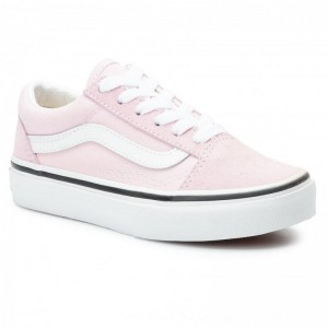Vans Turnschuhe Old Skool VN0A4BUUV3M1 Lilac Snow/True White