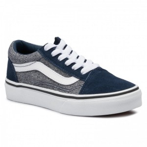 Vans Turnschuhe Old Skool VN0A4BUUV9E1 (Suede) Suiting/Dress Bls [Outlet]