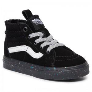 Vans Sneakers Sk8-Hi Zip VN0A4BV1V3S1 (Me) Glitter Sidewall/Blk [Outlet]