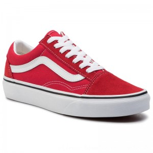 Vans Turnschuhe Old Skool VN0A4BV5JV61 Racing Red/True White