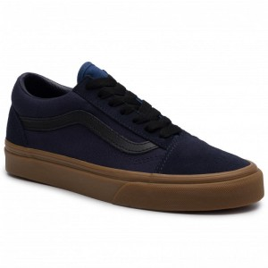 Vans Turnschuhe Old Skool VN0A4BV5V4R1 (Gum) Night Sky/True Navy [Outlet]