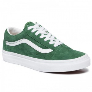 Vans Turnschuhe Old Skool VN0A4BV5V761 (Pig Suede)Fairway/Tr White [Outlet]