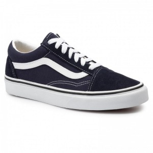 Vans Turnschuhe Old Skool VN0A4BV5V7E1 Night Sky/True White