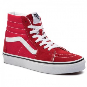 Vans Turnschuhe Sk8/Hi VN0A4BV6JV61 Racing Red/True White VN0A4BV6JV61 [Outlet]