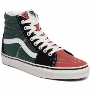 Vans Sneakers Sk8-Hi VN0A4BV6V9H1 (Varsity)Blt/Blnc De Blnc [Outlet]