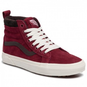 [BLACK FRIDAY] Vans Sneakersy Sk8-Hi Mte VN0A4BV7XKL1 (Mte)Bkng Rd/Chocalatetrt