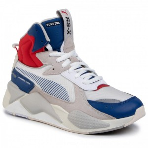 Puma Sneakers RS-X Midtop Utility 369821 02 Galaxy Blue/Puma White [Outlet]