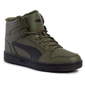 Puma Sneakers Puma Rebound Layup SL Fur 36983004 04 Forest Night/Puma Black [Outlet]