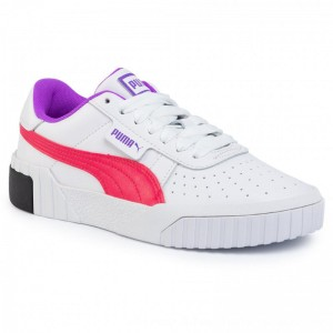 Puma Sneakers Cali Chase Wn's 369970 02 White/Nrgy Rose [Outlet]