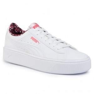 Puma Sneakers Vikky Stacked Neon Lights 370280 02 White/Puma/Coral [Outlet]